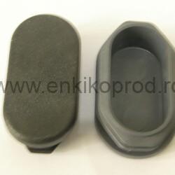 Capace din plastic pentru tevi ovale