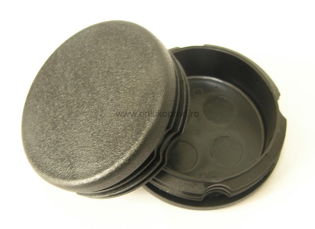 Capace din plastic pentru teava rotunda